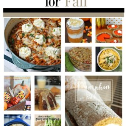 10 Fall Favorite Recipes