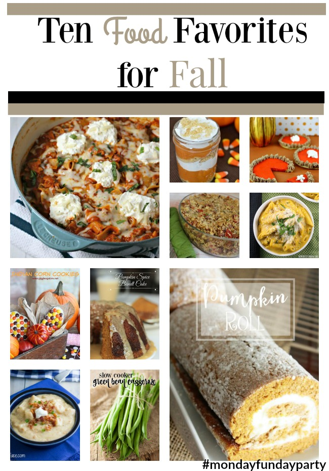 ten Food Favorites for Fall