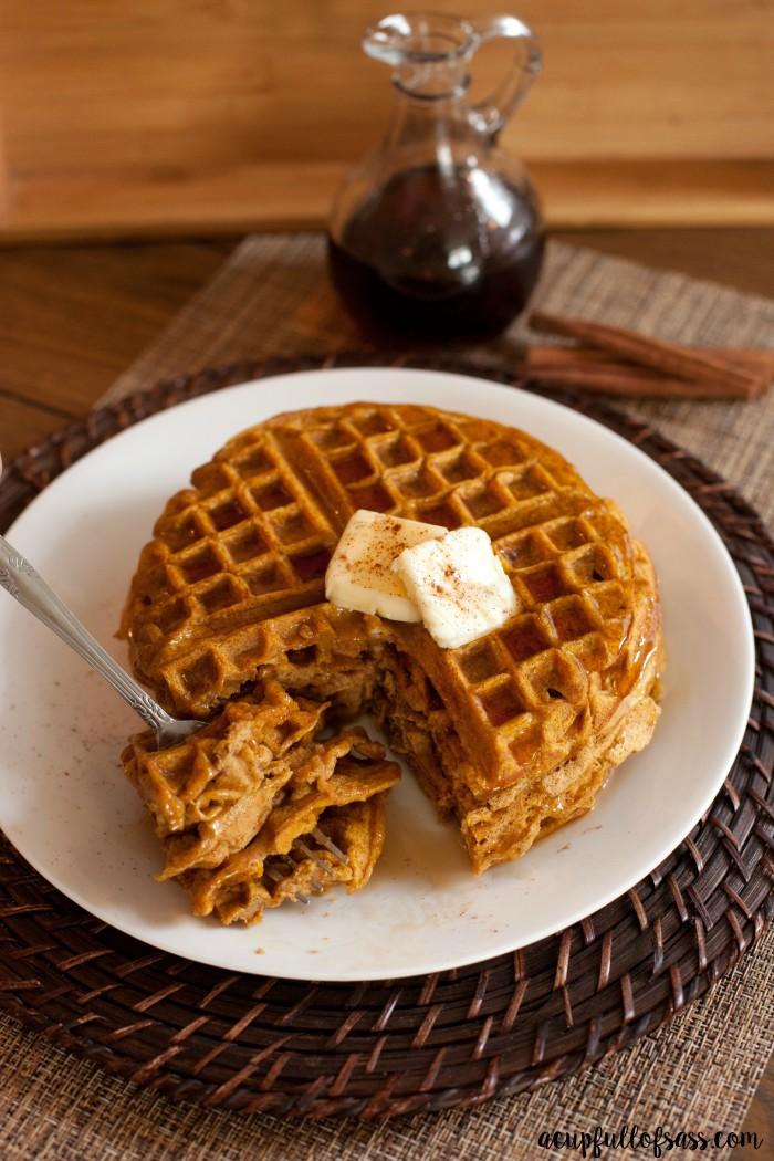 waffles pumpkin