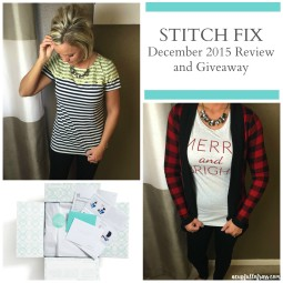 My Stitch Fix December Review and Giveaway