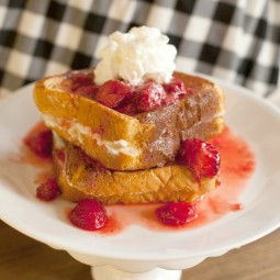 Cream Cheese Stuffed French Toast