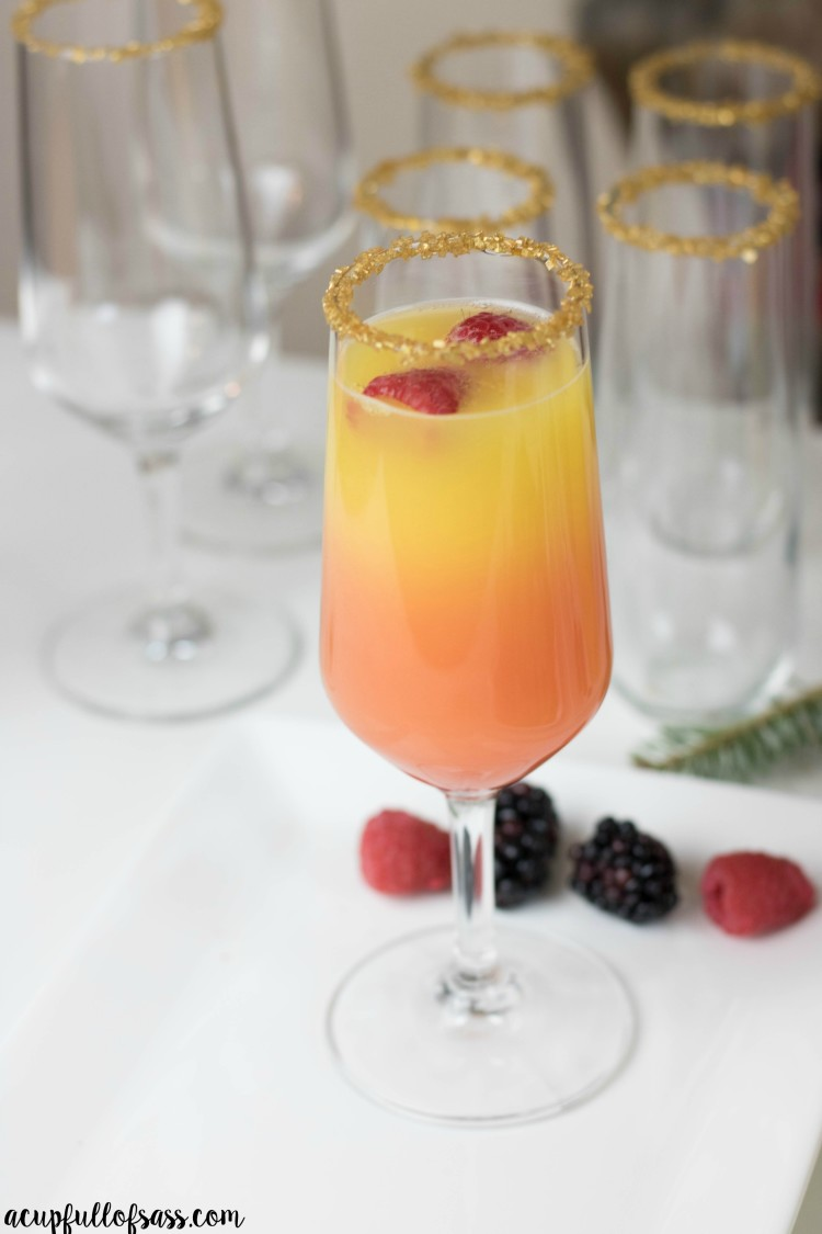 sunset mimosa recipe