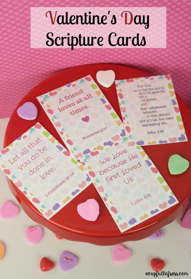 Free Valentine's Day Scripture card printable