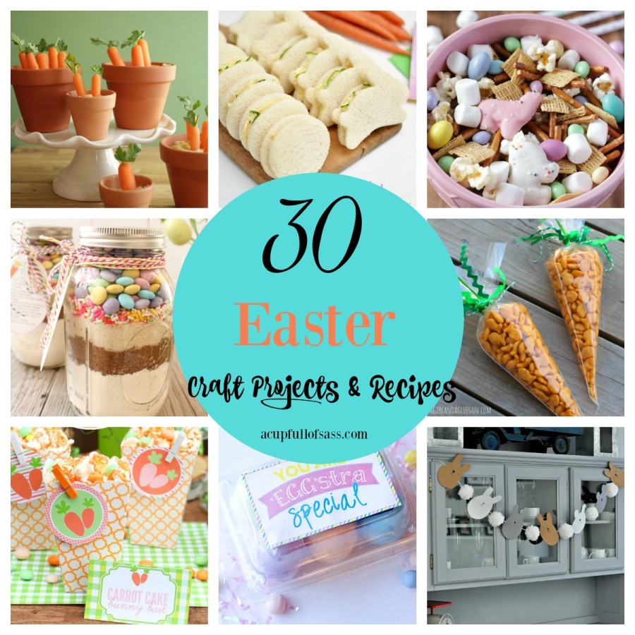 30 Easter Craft Projects & Recipes