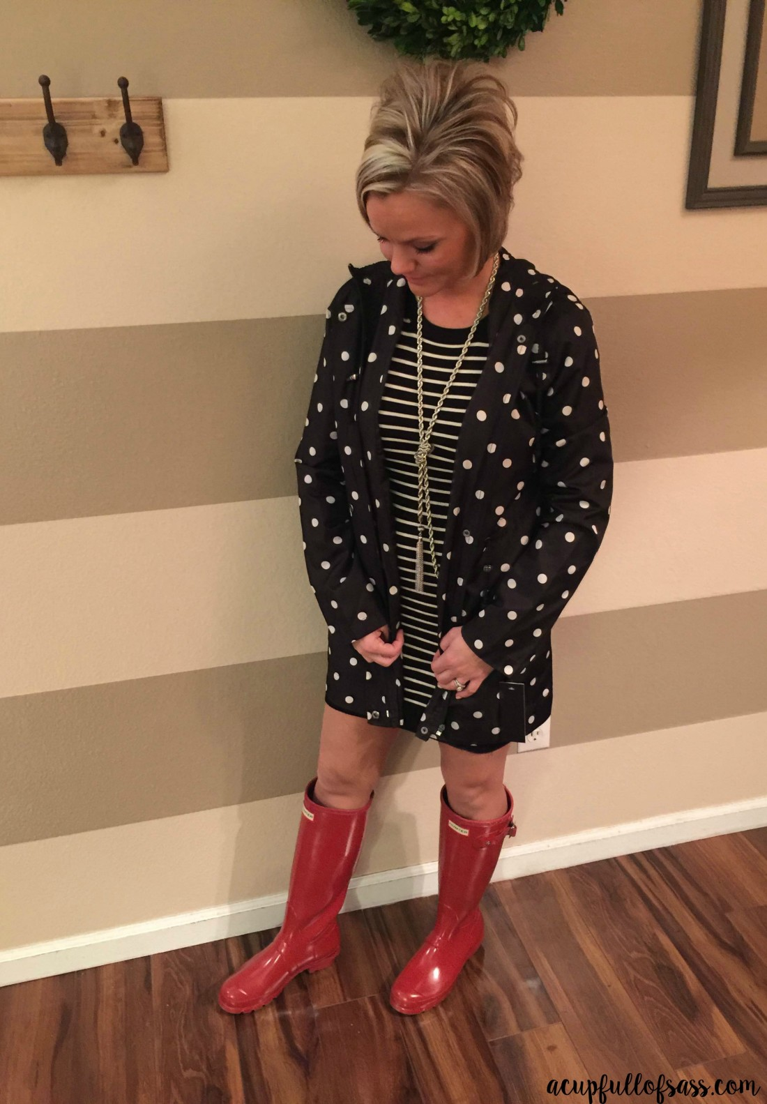 STITCH FIX - Sorelle Water Resistant Jacket by RD Style