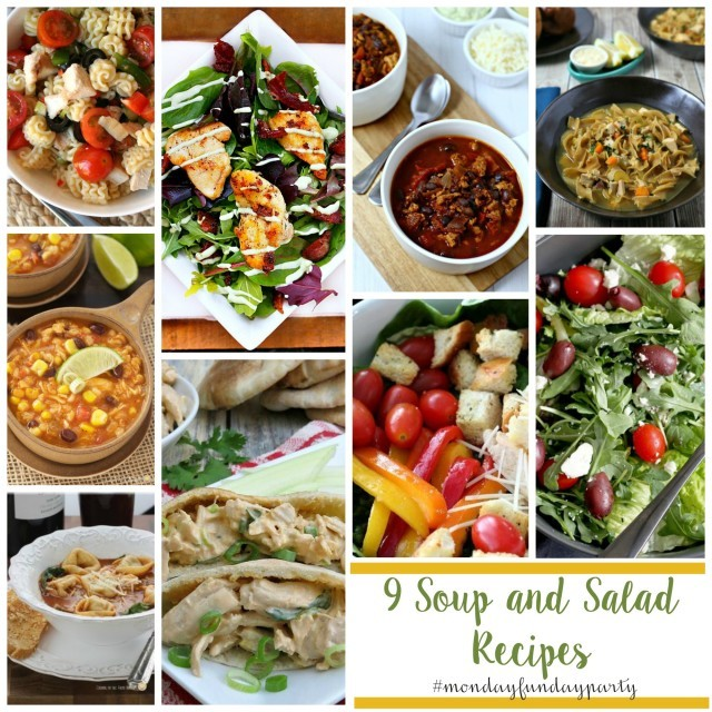 9 soup and salad recipes