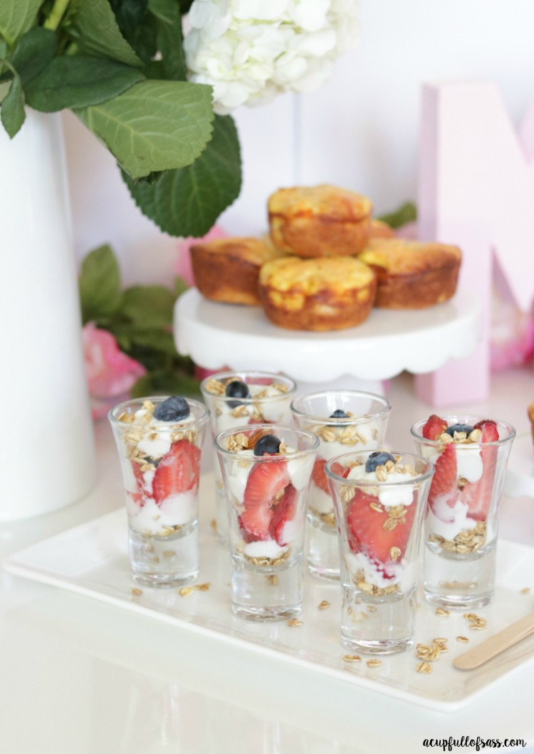 Yogurt Parfait Shooters