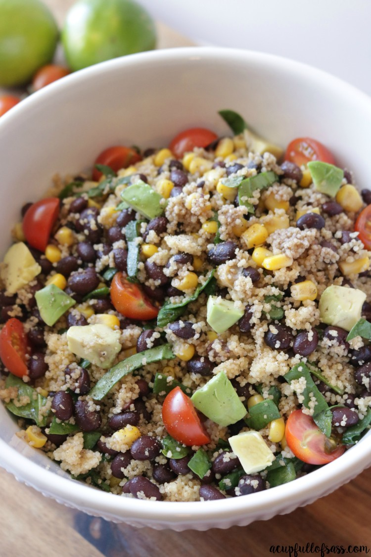 Couscous Salad with black beans