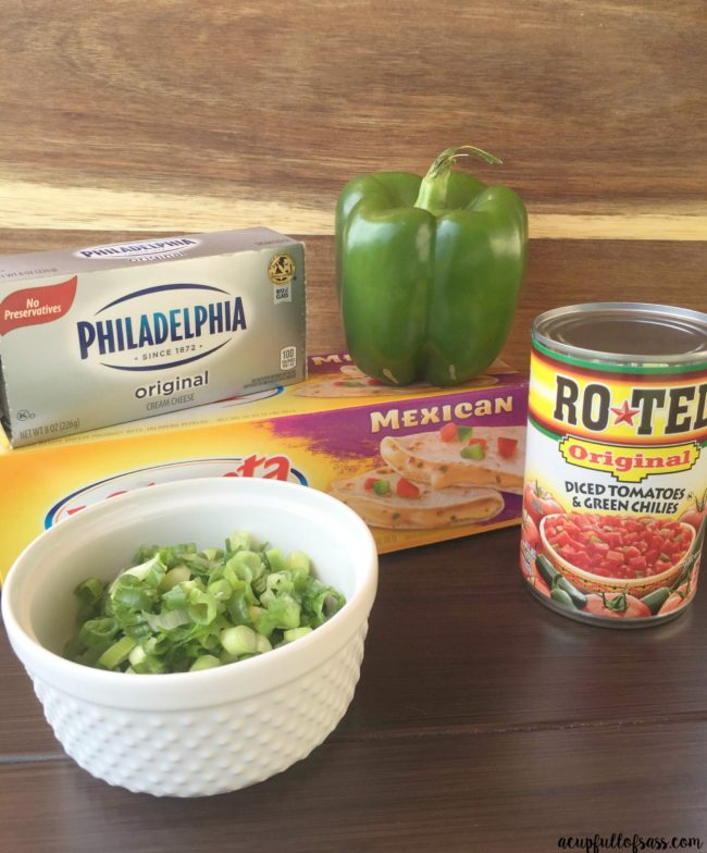 Spicy Mexican Cheese Dip Ingredients