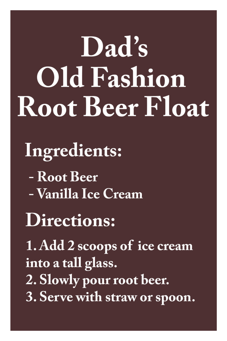 Fathers Day Root Beer Printable