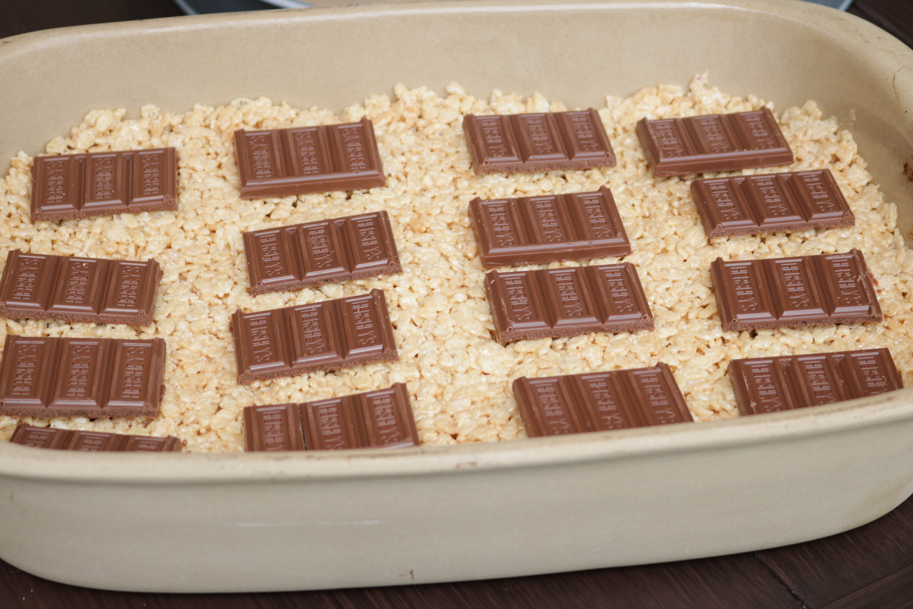 S'mores Rice Krispie Treat Pan
