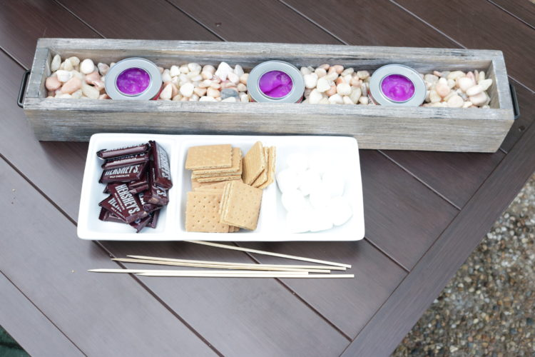 Tabletop S'mores Station
