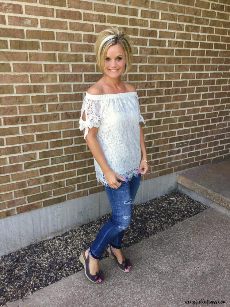 Summer style -Off the Shoulder Top