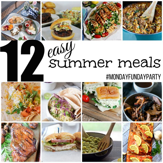 12 Easy Summer Meals