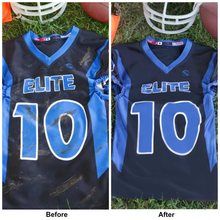 before after Oxiclean