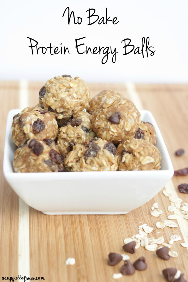 No Bake Protein Energy Balls A Cup Full Of Sass