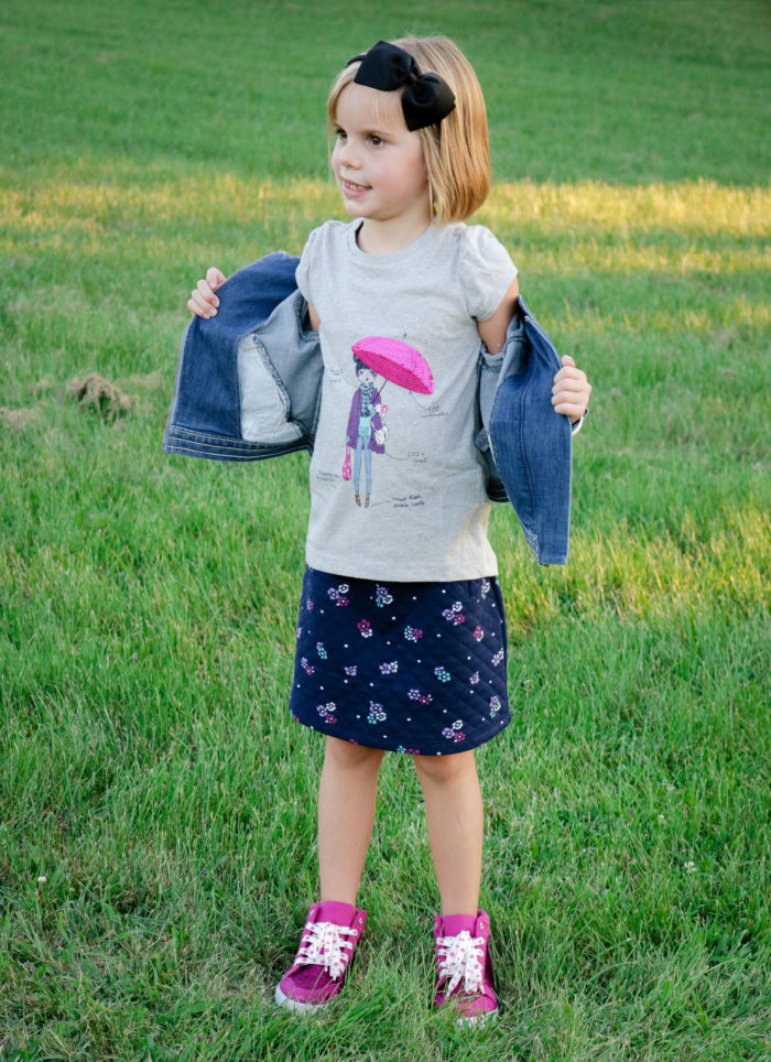 Back to School Traditions with Gymboree