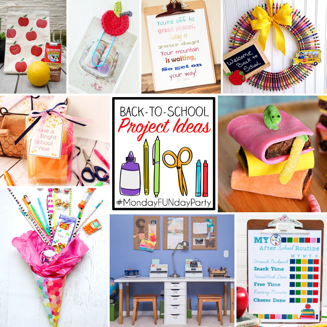 Back to School Project Ideas