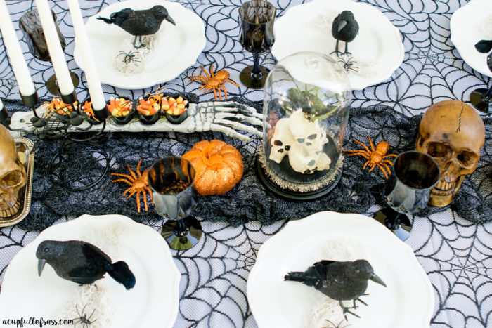 Halloween Tablescape Oriental Trading