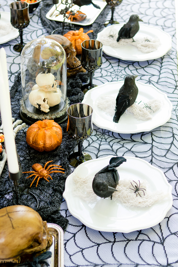 Halloween Tablescape with Oriental Trading