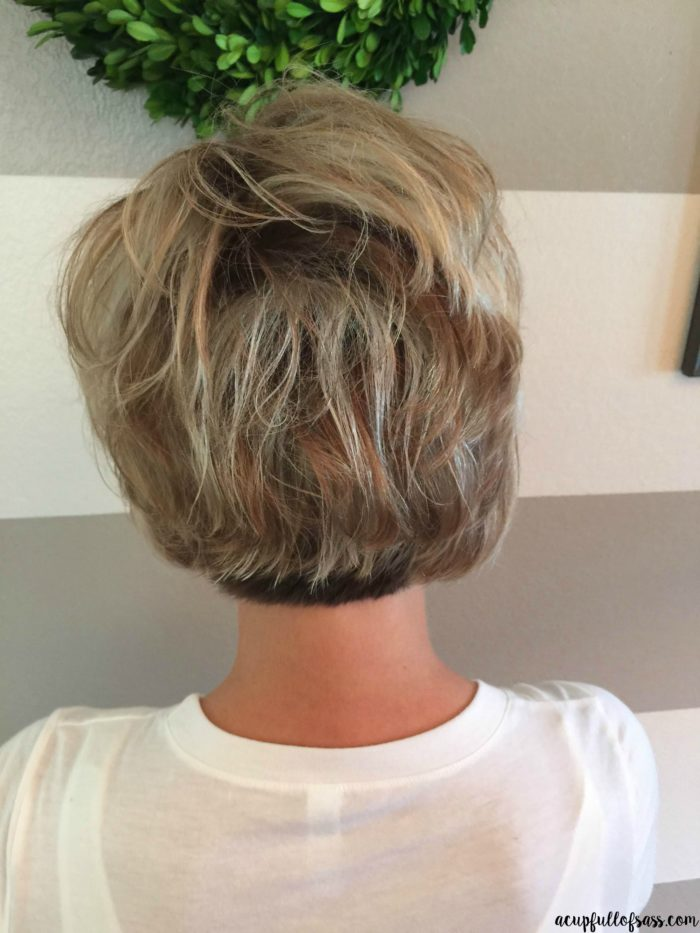 Easy Short Hairstyle With Fall Colors A Cup Full Of Sass