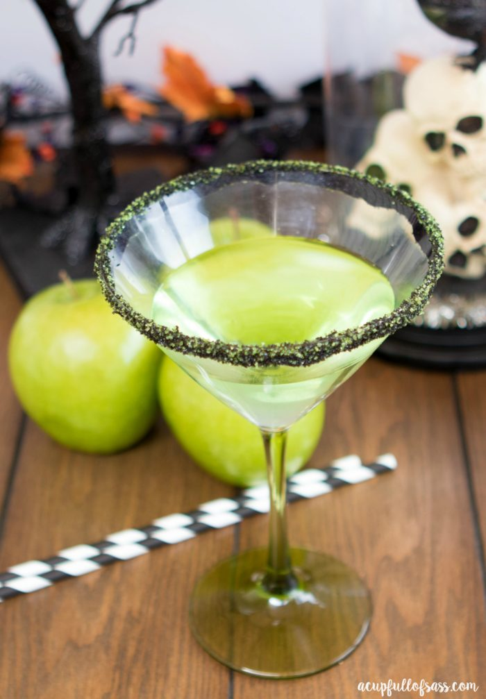 Poison Apple Cocktail Halloween Drink