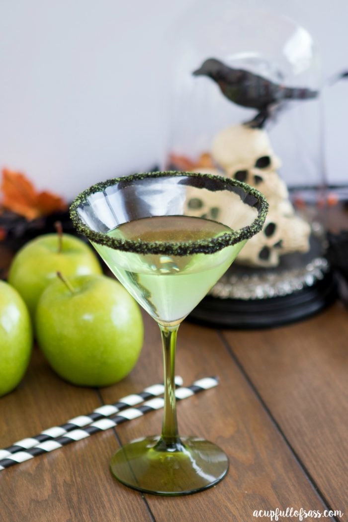 Poison apple cocktail a cup full of sass for Green apple mixed drinks