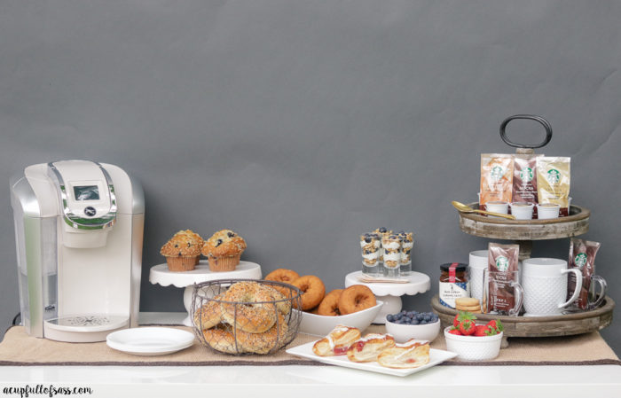 Easy Coffee Bar Party Ideas