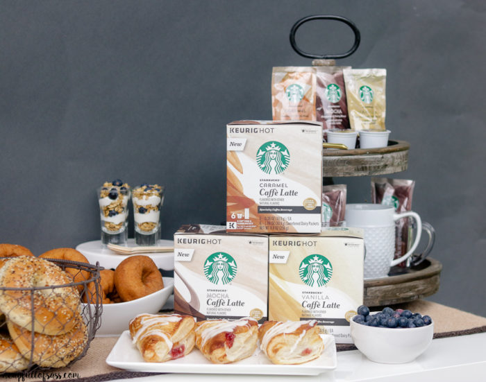 Starbucks Caffe Latte Bar Party