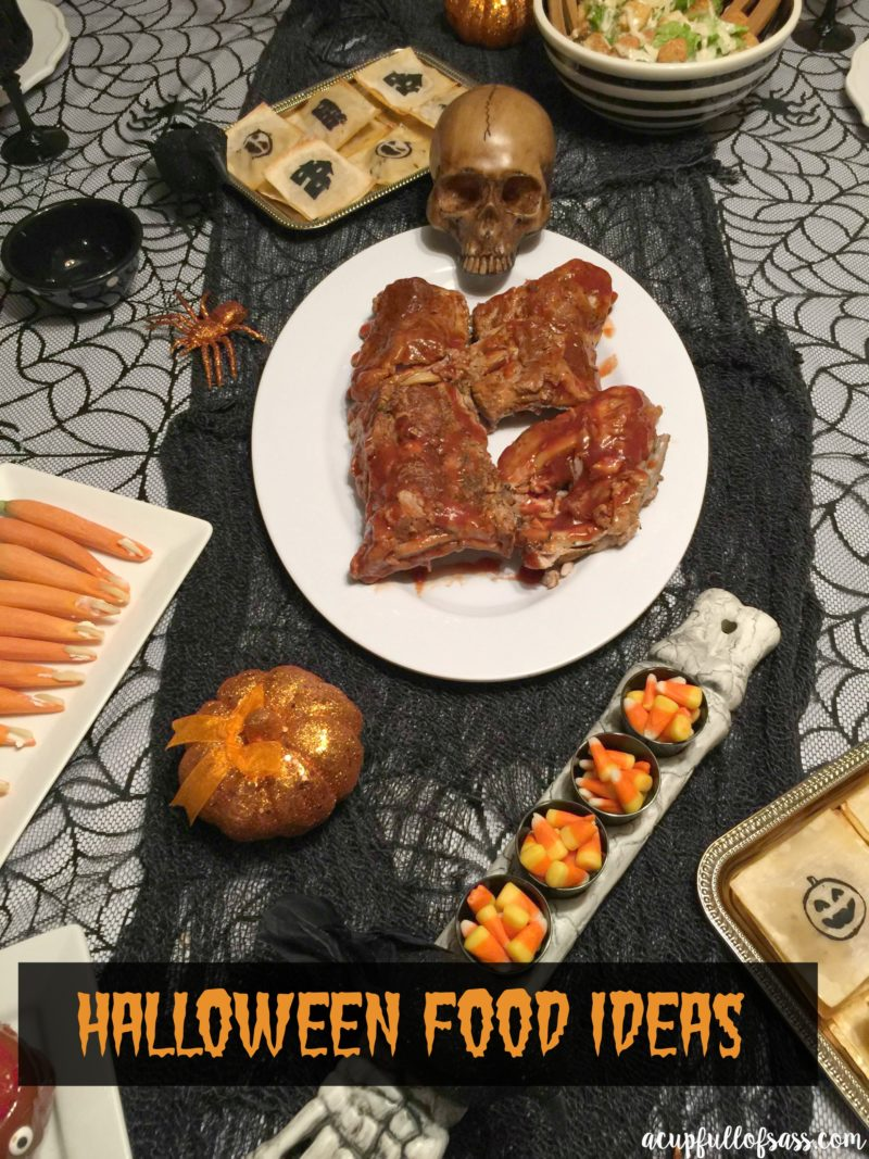 Spooky Halloween Food Ideas