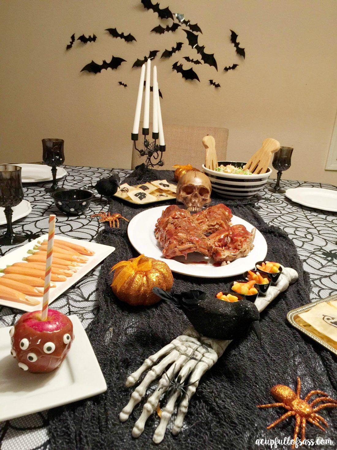 Halloween dinner party. My kids love this! - A Cup Full of Sass
