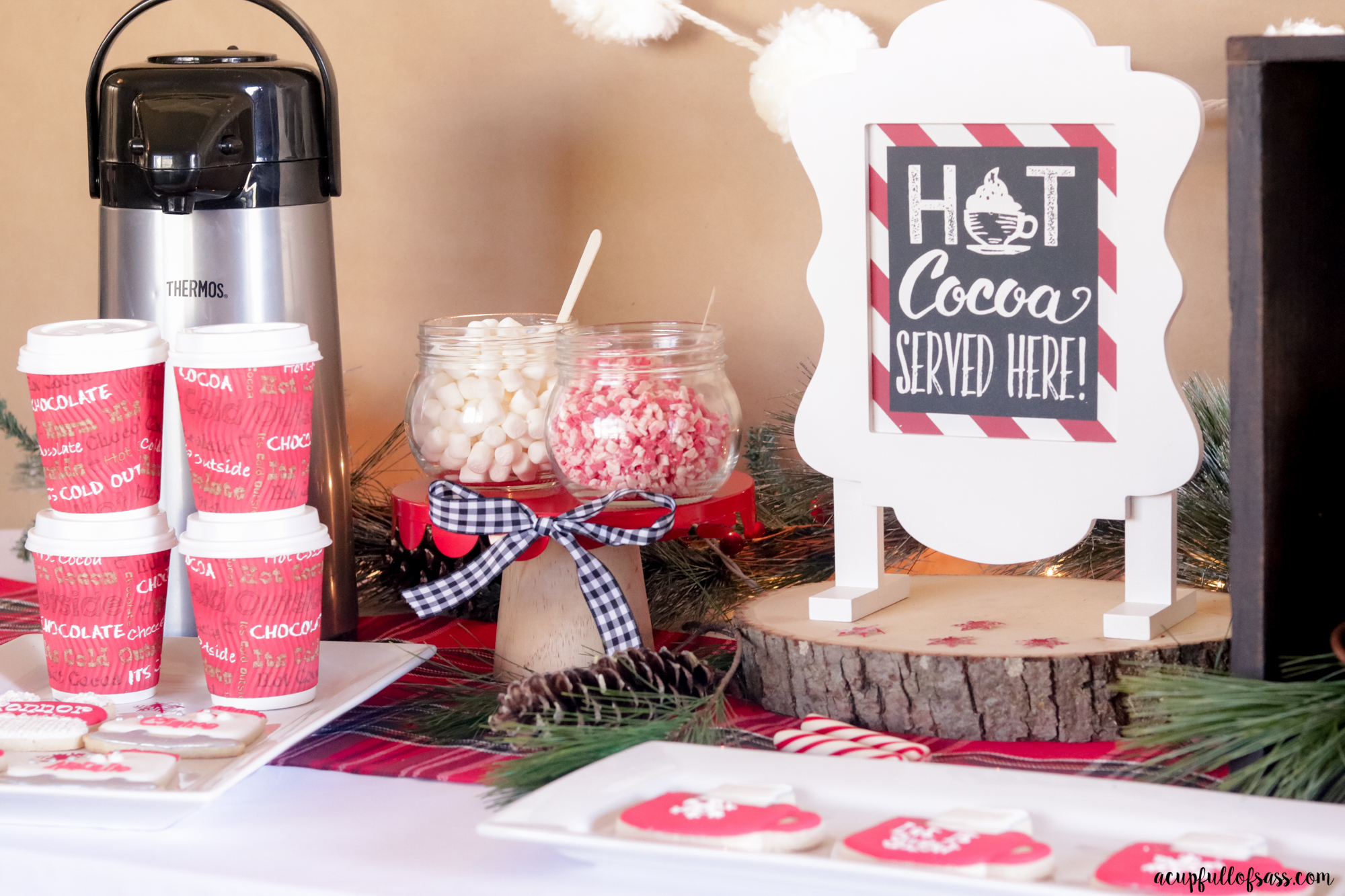 Host a Hot Cocoa Party with my easy tips