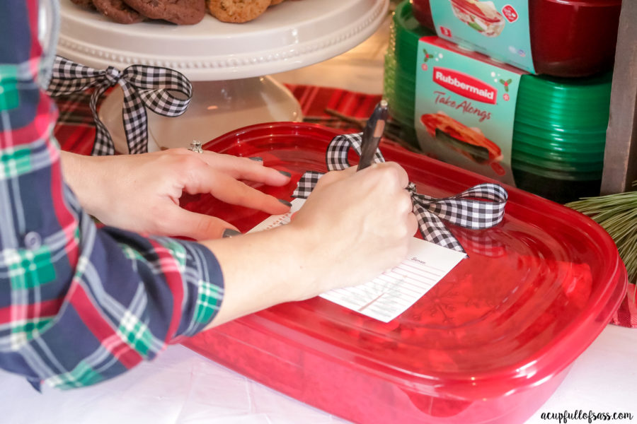 Cookie Exchange Party with Rubbermaid