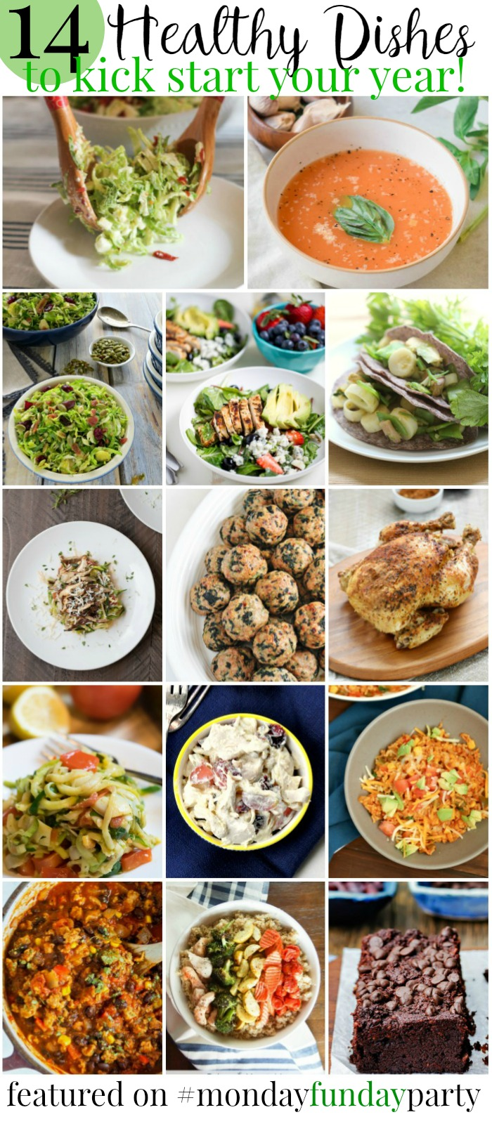 14 Healthy Dishes