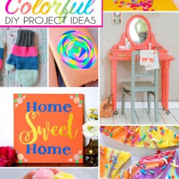 Colorful DIY Projects