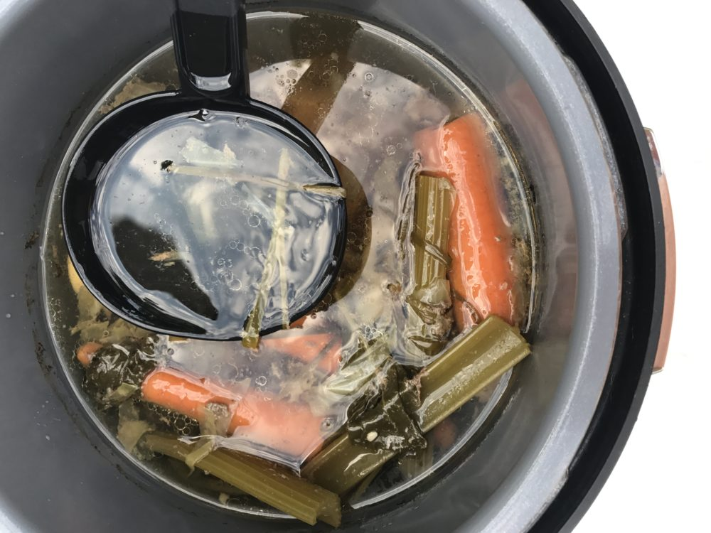 Pressure Cooker Bone Broth Recipe Paleo Friendly