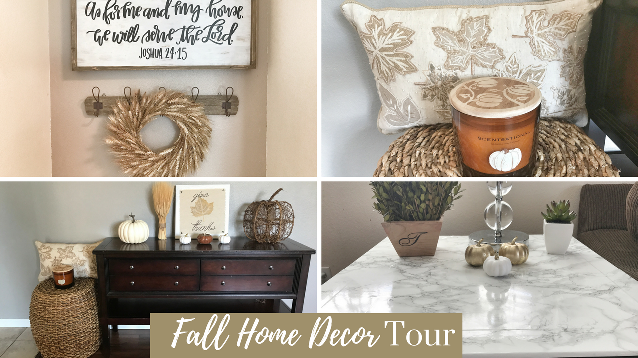 Fall Home Decor Tour with video. - A Cup Full of Sass