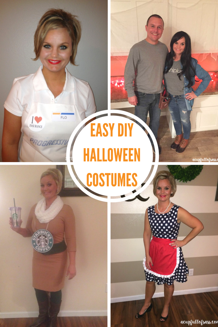 Diy halloween costume ideas a cup full of sass so much better than store bought costumes for adults anyway i hope these easy diy costumes tutorials help you this halloween solutioingenieria Images