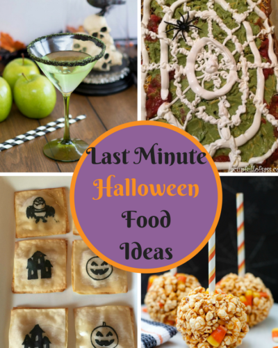 Last Minute Halloween Food Ideas