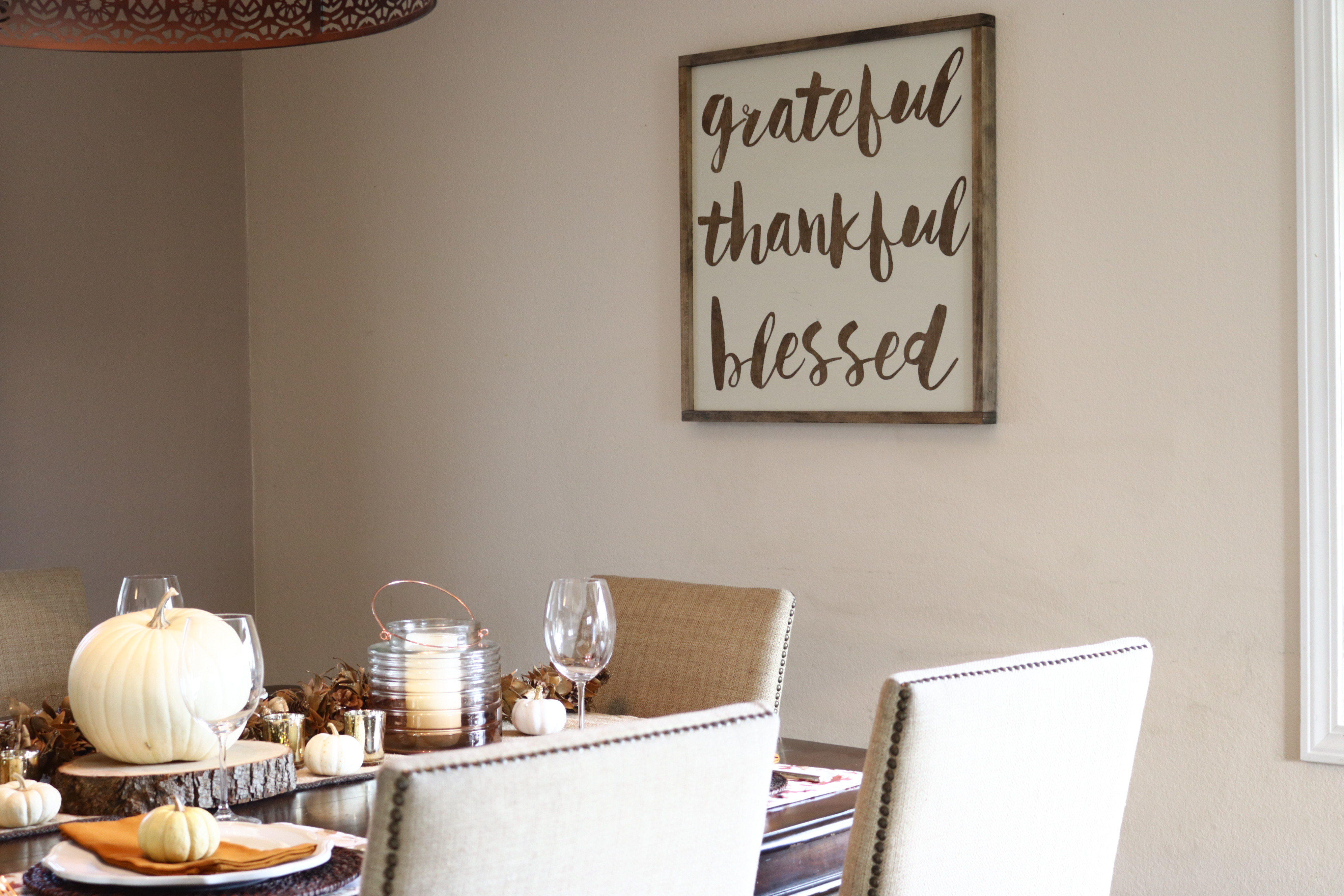Fall Tablescape for Thanksgiving