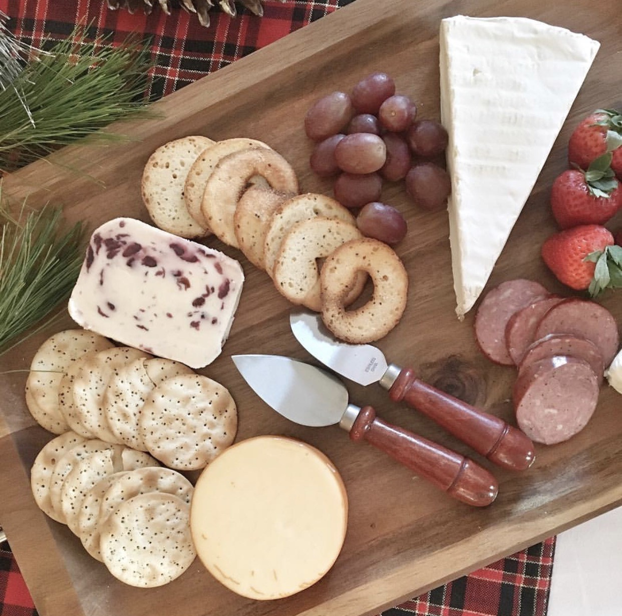 Cheese Board for Holiday Parties