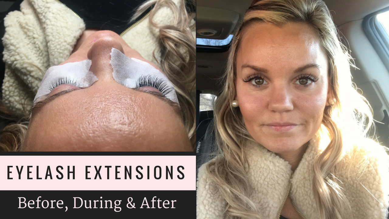 Eyelash Extensions Before and After with Questions and Answers