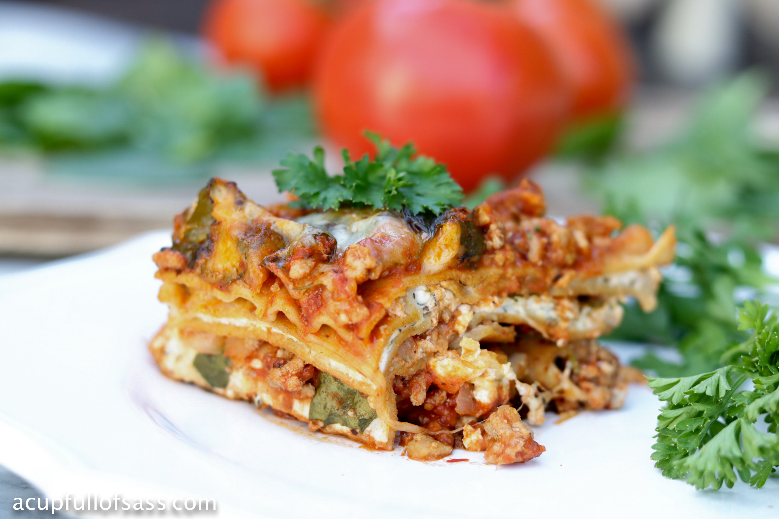 Healthy Lasagna in the Pressure Cooker (Instant Pot)
