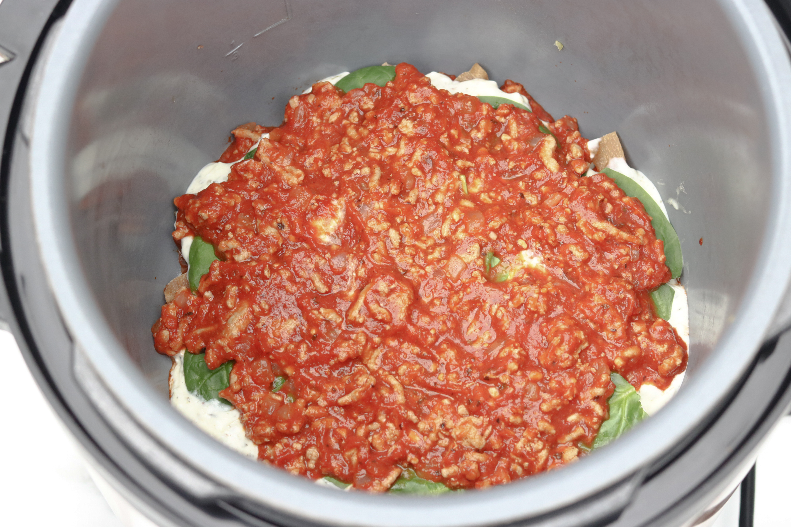 Lasagna in Pressure Cooker