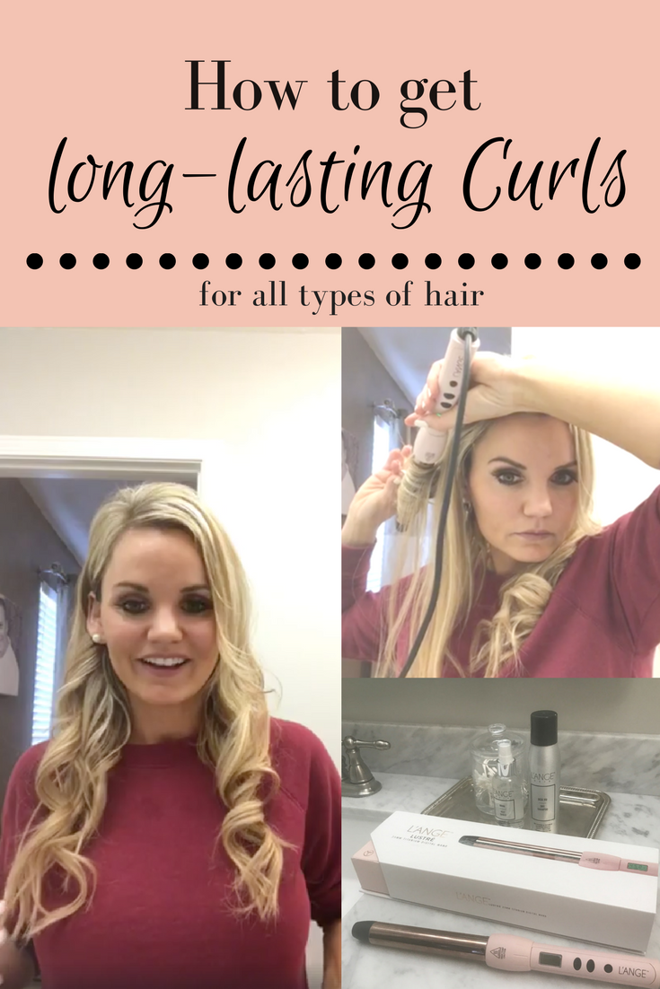 How to get long-lasting Curls for all types of hair - A Cup Full of Sass