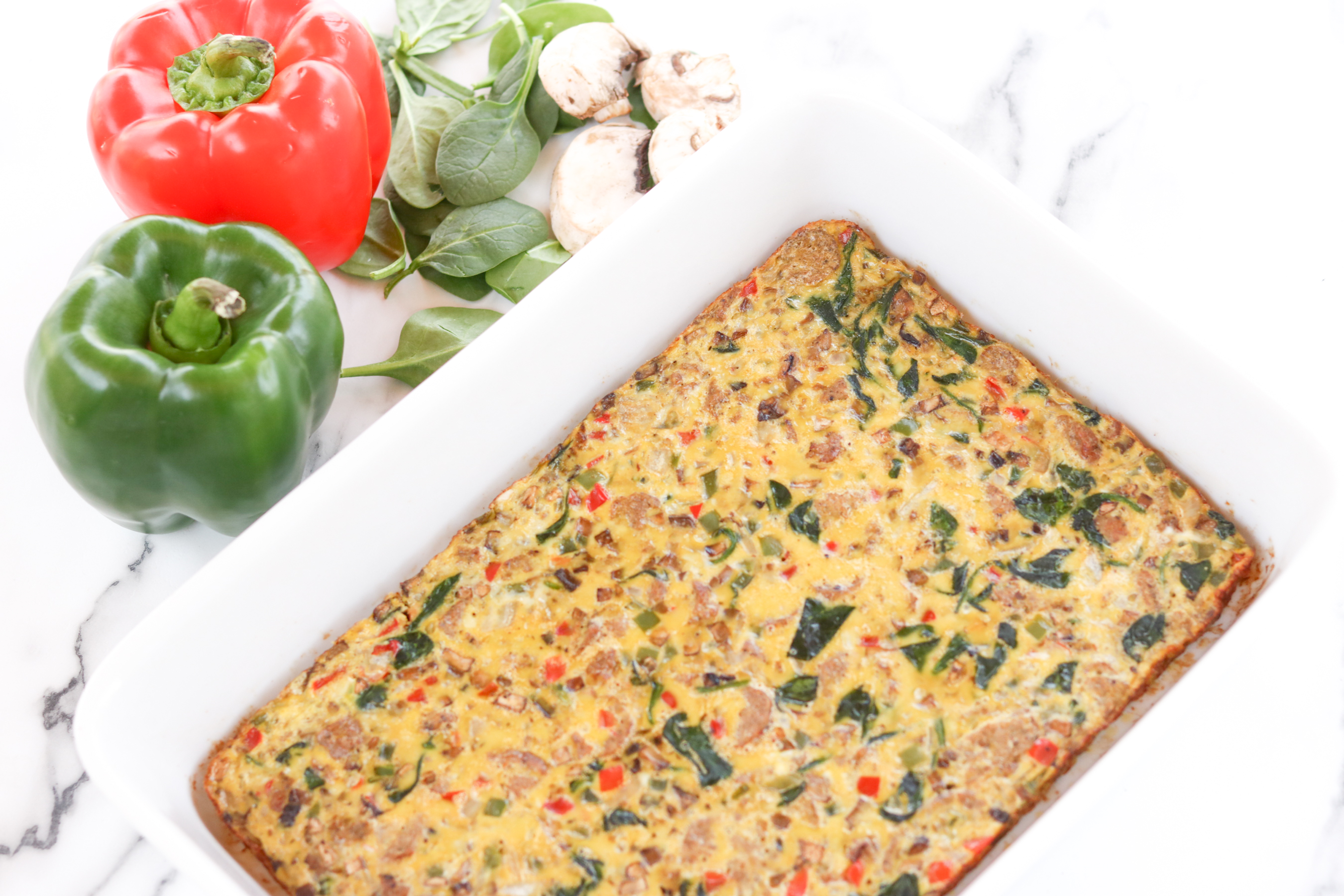 Low Carb Egg Casserole Paleo Keto Faster Way To Fast Loss Friendly