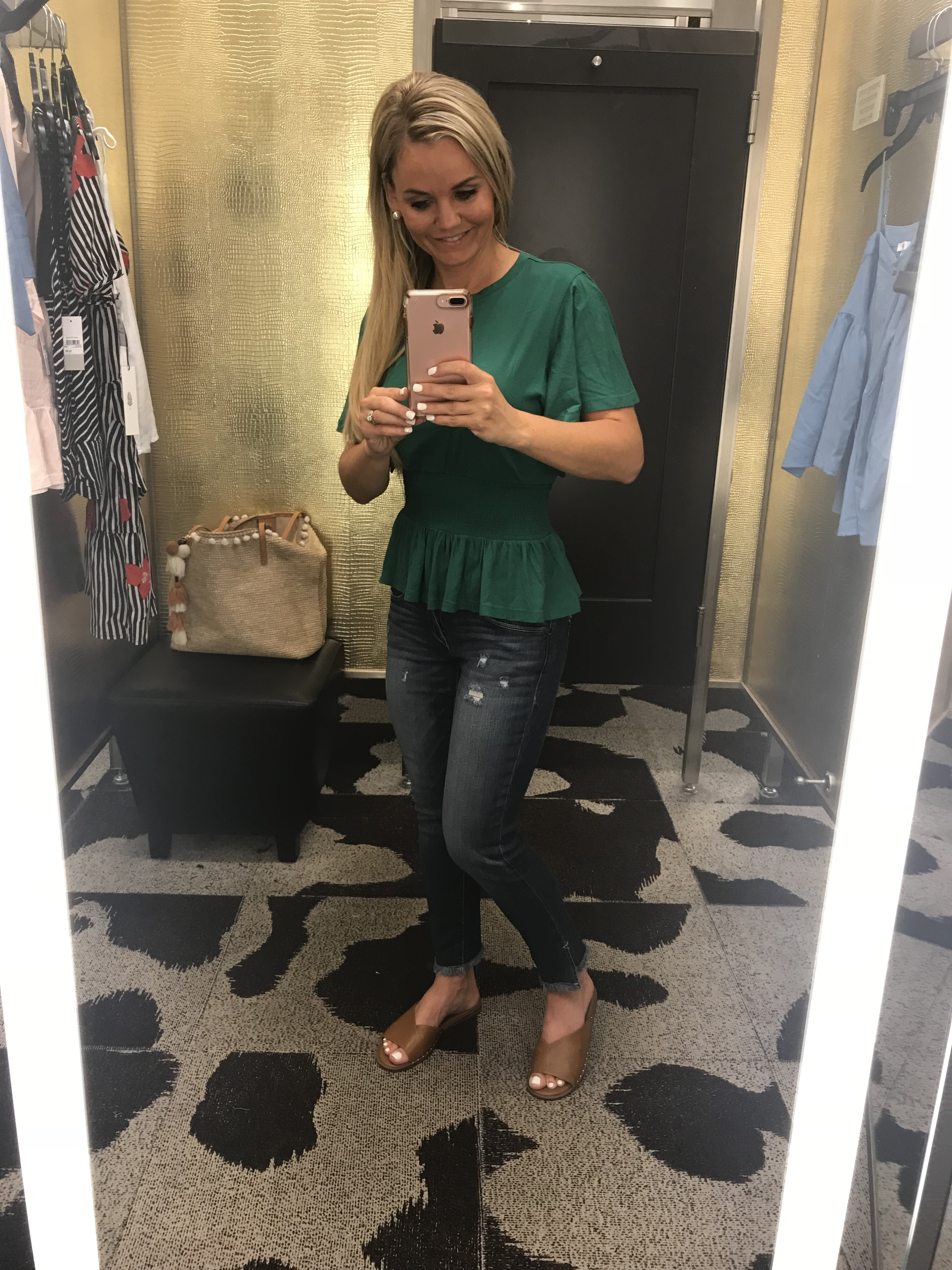 Nordstrom Dressing Room Try-On