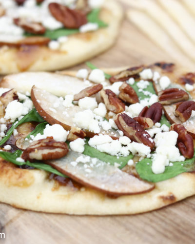 Pear and Fig Flatbread
