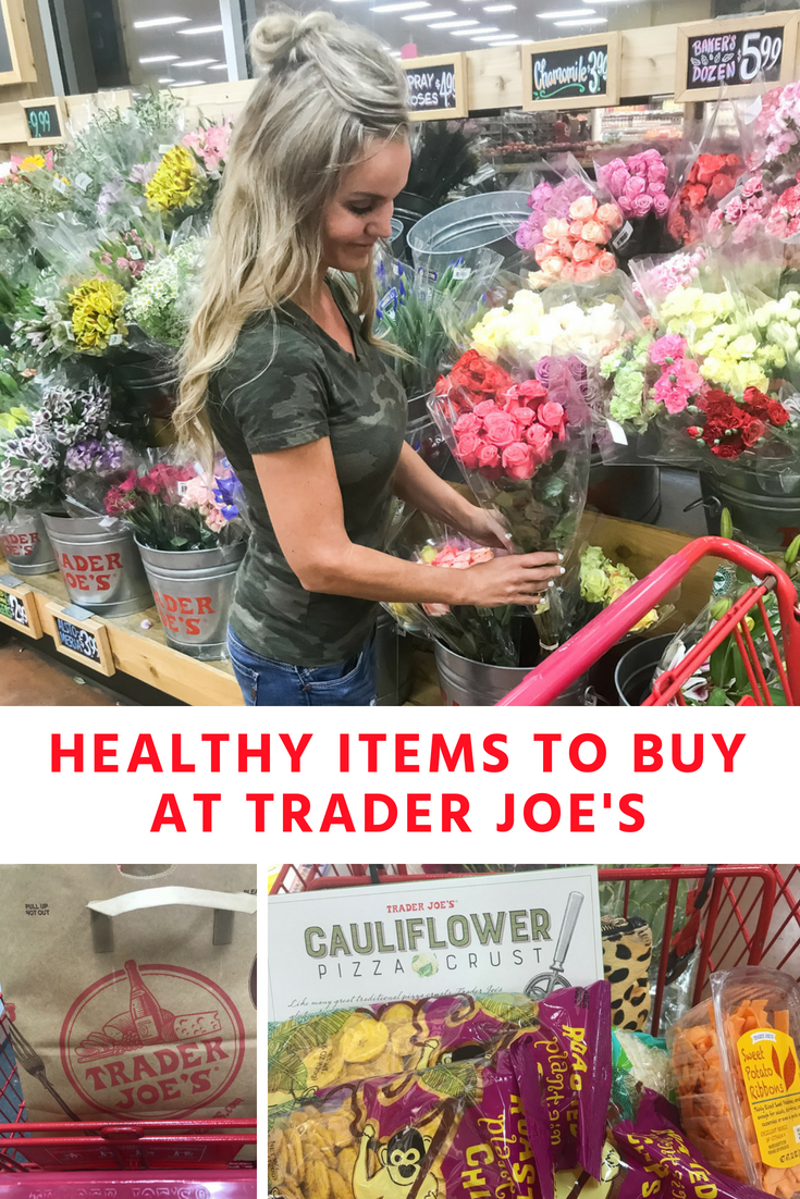 Do you love Trader Joe's like me? See what healthy Items I buy from Trader Joe's.