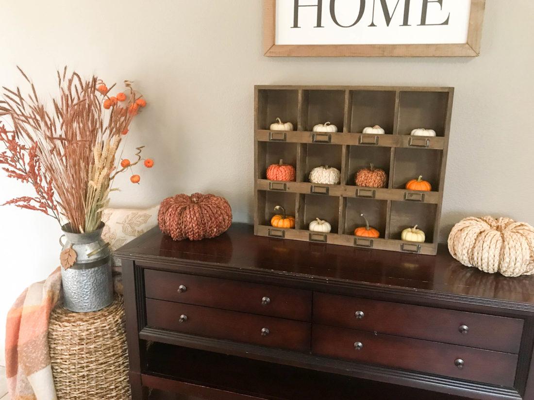 Fall Entryway Home Decor Ideas A Cup